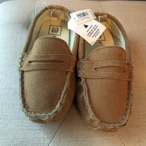 Baby Gap Suede Loafers NWT size 10 toddler